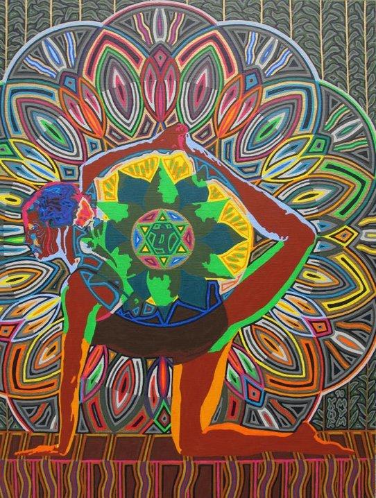 Yoga Art By Karmym Yoga For Empaths