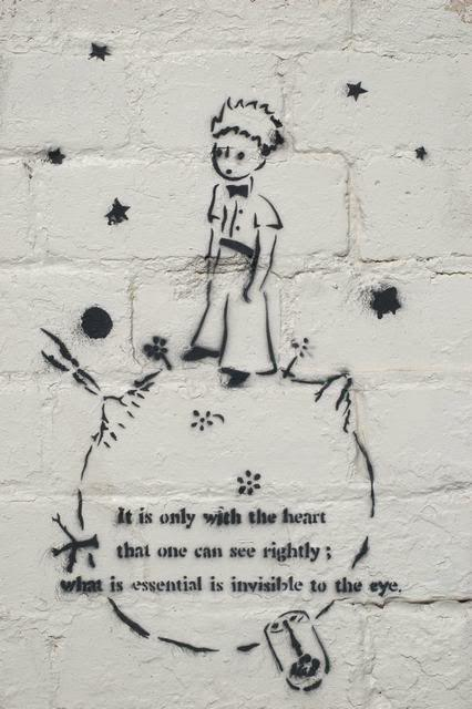 STREET ART LITTLE PRINCE