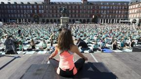 Madrid Yoga: The Capital Of Yoga For A Day! On 1st June 2013