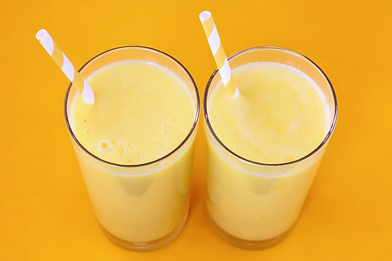 yellow-smoothie
