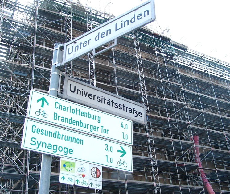 Getting directions in Berlin