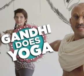 Comedy Video: If Gandhi Took A Yoga Class